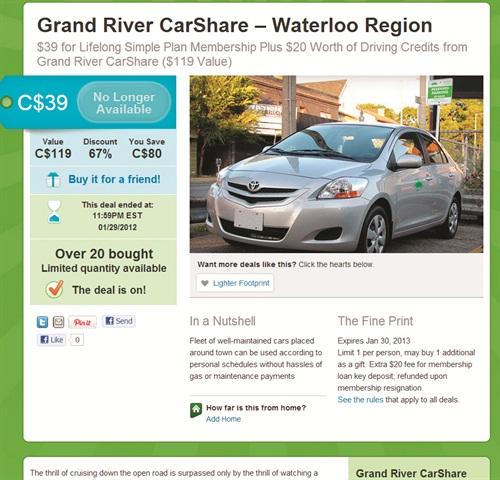 Groupon Car Rental Discounts