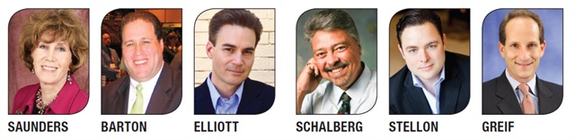 The speaker lineup for the 2012 Auto Rental Summit.