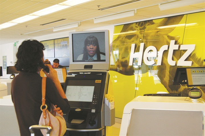 hertz redesigns rethinks the car rental experience article auto rental news. Black Bedroom Furniture Sets. Home Design Ideas