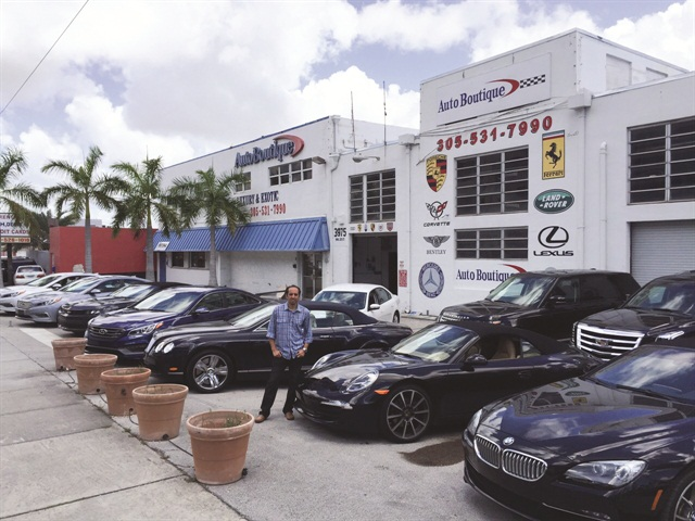 youssef aziz co owner of auto boutique in miami says he lets his