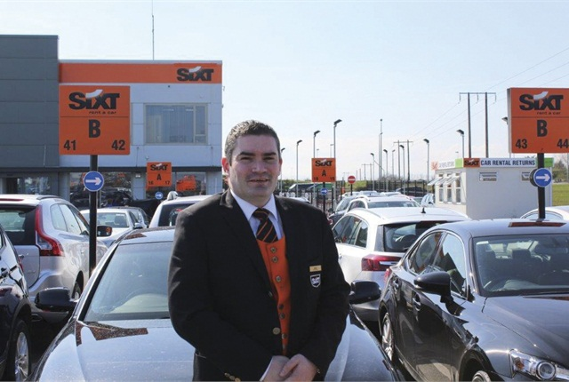 Adrian Treacy is Sixt Ireland's manager at Dublin Airport.