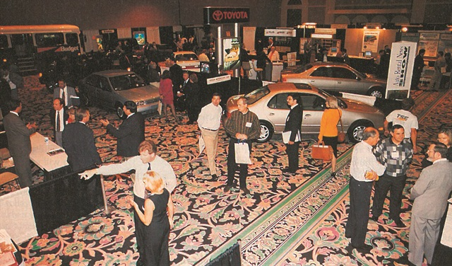 The inaugural Car Rental Show, then called the Auto Rental News show, was held in 1996 at The Mirage in Las Vegas. This year marks the show's 20th anniversary.