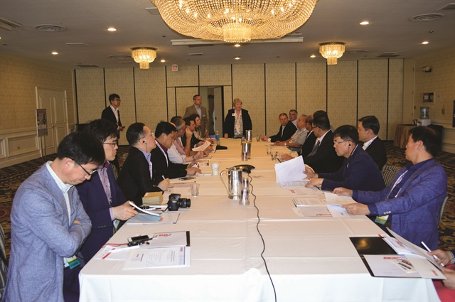 This year featured the first meeting of association directors from around the world, including China, South Korea, Brazil, Mexico, New Zealand, Canada, and the U.S. Photo by Amy Winter-Hercher.