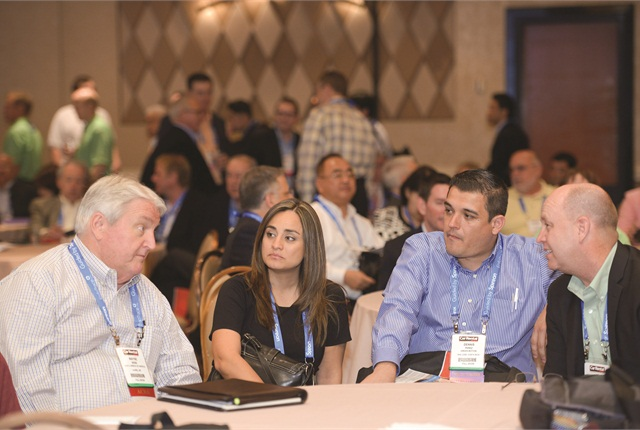 In addition to two full days of keynote addresses, seminars and educational programming, ICRS features 12 hours of networking events and an exhibit hall with close to 100 exhibitors. Photo by Jann Hendry.