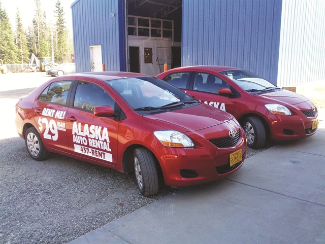 Alaska Auto Rental created moving billboards by renting out its promotional vehicles to customers for $25 per day.