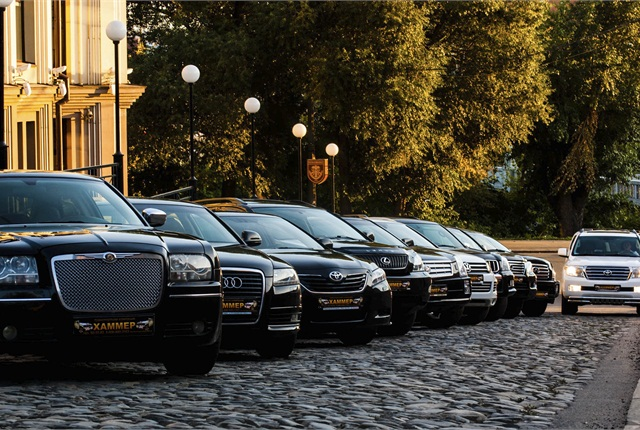 The fleet of the car rental company Hammer Tomsk serves visitors to the historic city of Tomsk in Siberia.