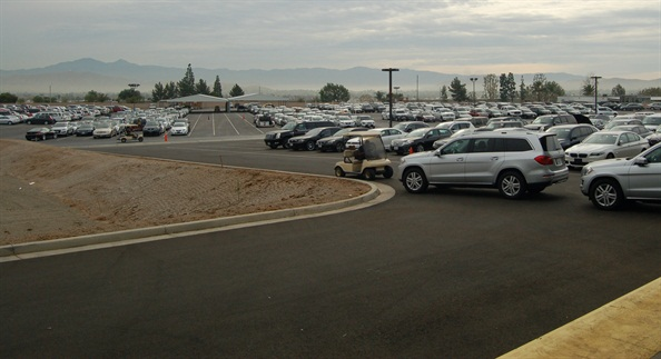 In addition to gaining 89,000 square feet of facility space, Manheim Riverside also added more than 2,000 parking spaces for vehicles.Photos: Chris Wolski