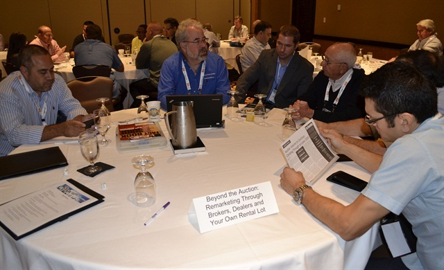 A roundtable discussion during last year's Fleet Jam Session. Photo by Amy Winter-Hercher.
