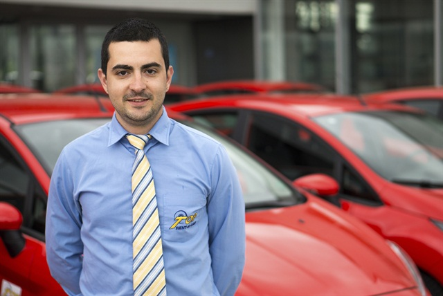 George Penchev is Top Rent A Car's sales representative for the Eastern region.