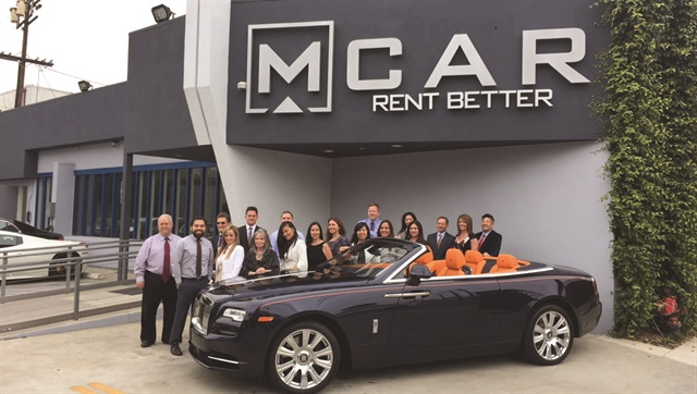 MCar caters to its corporate customers by offering inclusive rates, negotiated fuel charges, a diverse vehicle fleet, and special services like delivery and pick-ups. Photo courtesy of MCar.
