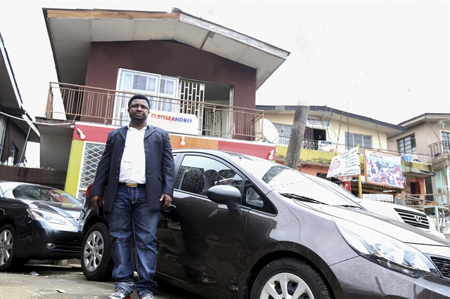 Elvis Ubaka Canice, co-owner of Elroseandria Automobile and Investment Limited in Lagos, feels he can grow his fleet of 15 vehicles to at least five new locations with present demand.