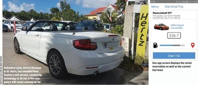 St Barts Car Rental Hertz