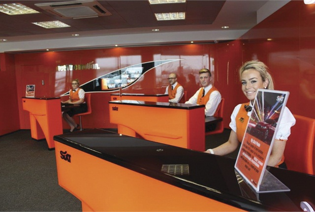 The franchise's airport staff waits to serve customers at Dublin Airport, which now sees 87% of the country's arrivals.