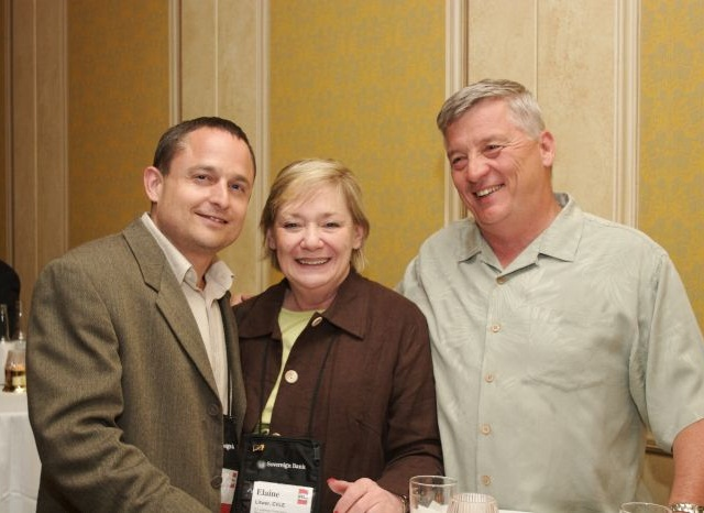 Myself, Elaine and Bob Kelly at a National Vehicle Leasing Association convention in Las Vegas.