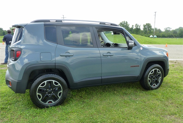 The Renegade is positioned to be an off-road demon in a hipster package.