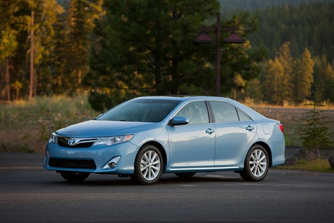 The 2012-MY Camry Hybrid.