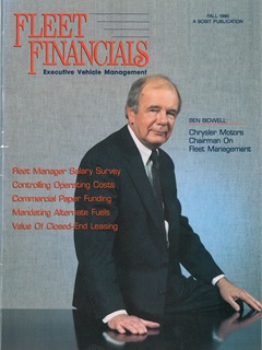 The cover of the 1990 issue of Fleet Financials magazine.