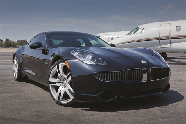 Fisker Karma obtains a 230-mile range with a full tank and a full charge.