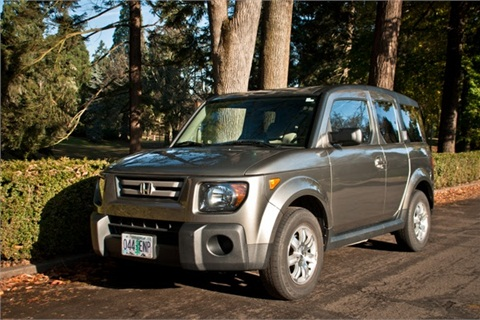 A Honda Element to be used in the Getaround Portland, Ore. service.