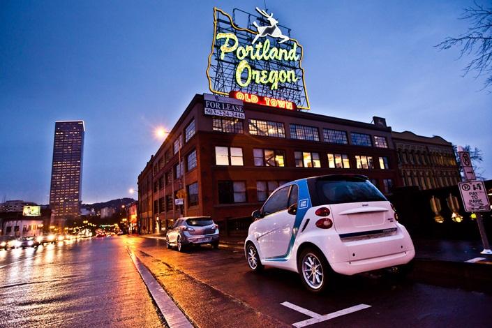 Car2go Starts Service In Portland Ore And Washington D