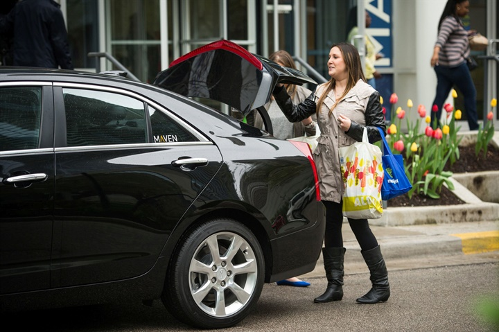 GM Debuts Maven City Carsharing Service In Baltimore
