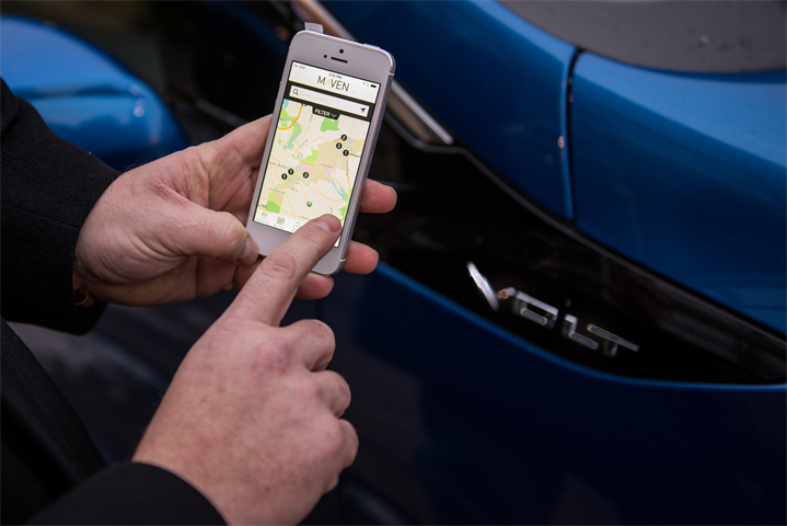 GM Maven car-sharing expands to Toronto