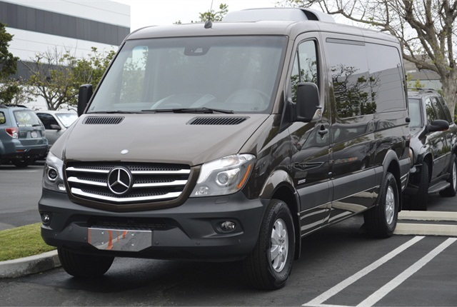 Action car rental adds luxury vehicles rental operations for Mercedes benz sprinter rental