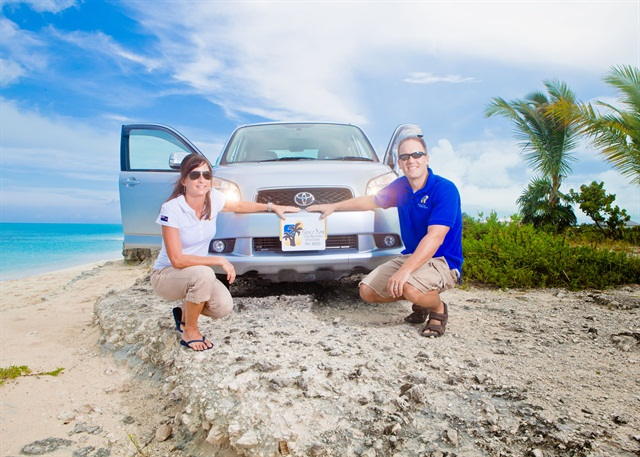 Todd and Leslie Foss started Grace Bay Car Rentals and Sales Ltd. in Turks and Caicos in 2006.