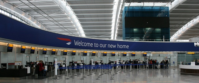 Heathrow Airport. Photo via Adambro/Wikimedia