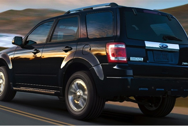 Photo of 2011 Ford Escape courtesy of Ford Motor Co.