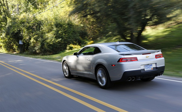 2014 Chevrolet Camaro. Photo credit: GM