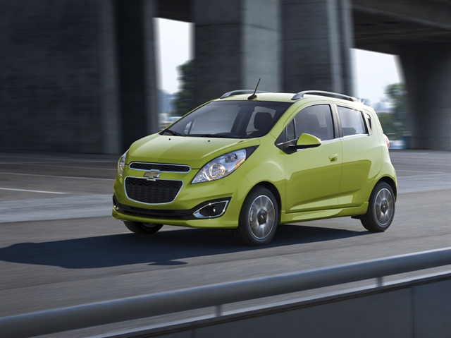 The 2014 Chevrolet Spark. Photo credit: GM.