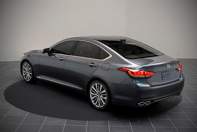 Photo of Hyundai Genesis courtesy of Hyundai.