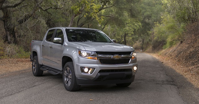 Compact pickups like the Chevrolet Colorado have continued to strengthen wholesale vehicle prices. Photo courtesy of GM.