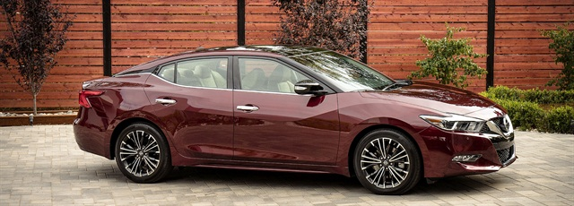 2016 Nissan Maxima. Photo courtesy of Nissan.