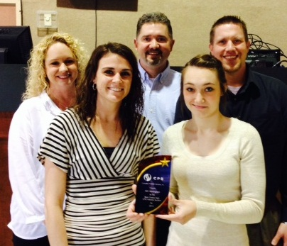 ABC Birmingham: Best Overall Auction (High CPS Volume) Becky Thomason, Alison Fagan, Russ Sapp, Courtney Finley and Roy Caldwell
