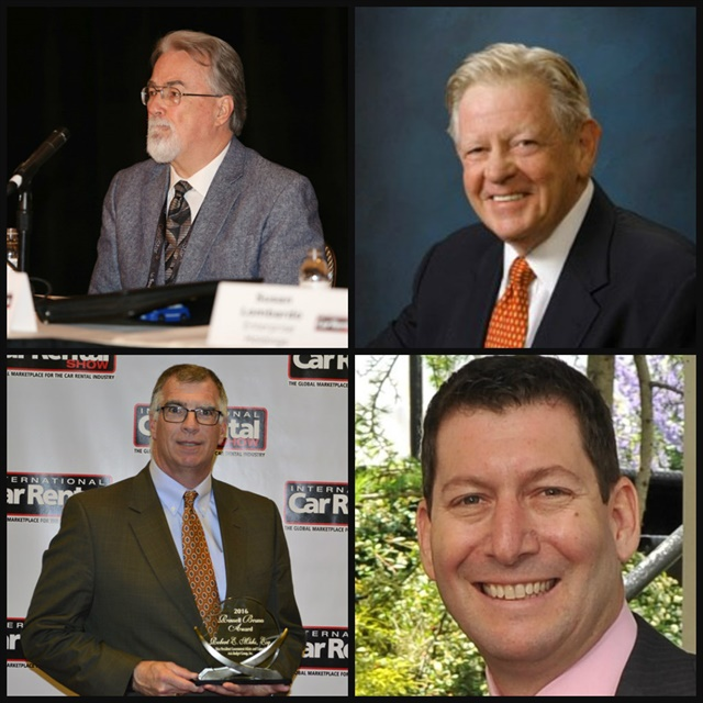 (l to r): Joe Knight has stepped down as ACRA's president; Bill Plamondon has been named as ACRA's new president; Robert Muhs has been appointed as the new vice president; Eric Rothman has joined as a new board member.