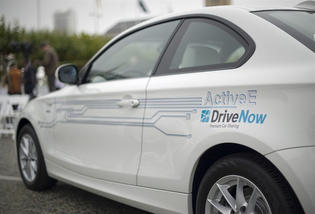 Eighty more BMW ActiveE vehicles will be added to DriveNow's SF car-sharing program. Photo credit: BMW Group.