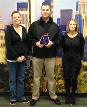 Adesa Seattle: Best Overall Auction (Low CPS Volume) Nicole Barker, Dan Watt & Christina (Chris) Stetler