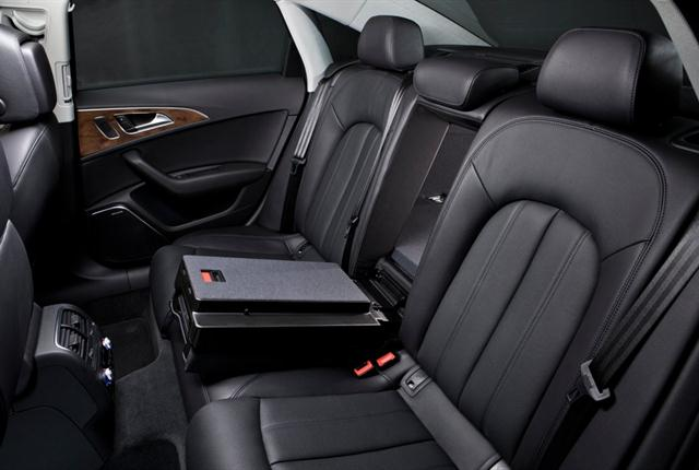 Photo of Audi A6 interior courtesy of Audi.