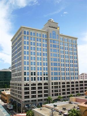 AutoNation's corporate headquarters in Fort Lauderdale. Photo via Wikimedia.