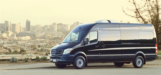 Bandago offers rental vans such as the Mercedes-Benz Sprinter. Photo courtesy of Bandago.