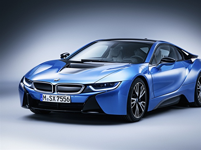 The BMW i8. Photo courtesy of BMW USA.