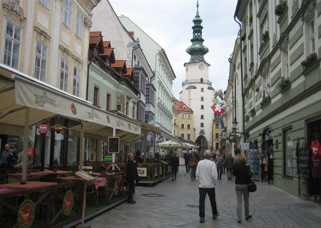 up! City carsharing service has launched in Bratislava, Slovakia. Photo via Prince Roy/Flickr