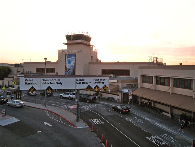 Burbank's Bob Hope Airport. Photo via Wikimedia.