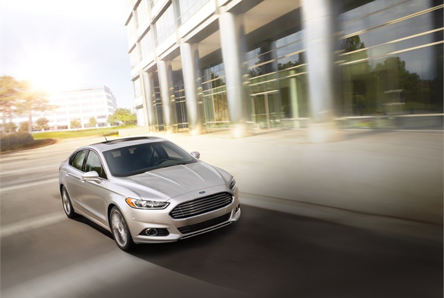 Image of Ford Fusion courtesy of Ford.