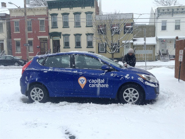 Photo courtesy of Capital CarShare.