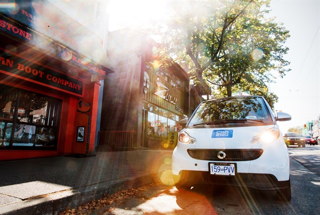 Photo courtesy of car2go