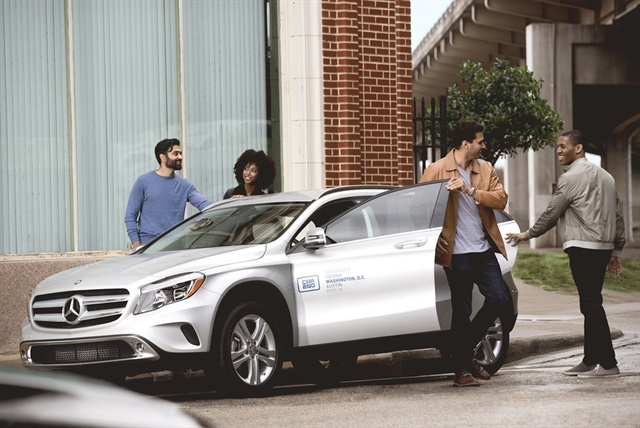 car2go currently offers Mercedes-Benz vehicles in eight of its 11 North American locations. Photo courtesy of car2go