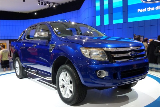 Photo of 2010 Ford Ranger pickup via Wikimedia.